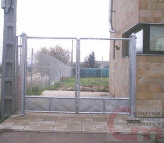 Puerta Malla Simple Torsión 02