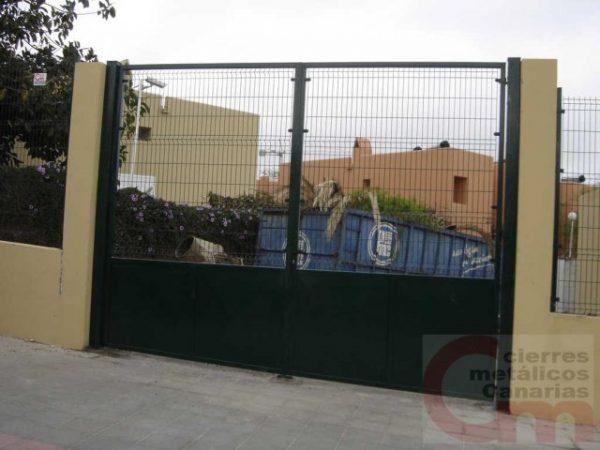 Puerta Panel Electrosoldado